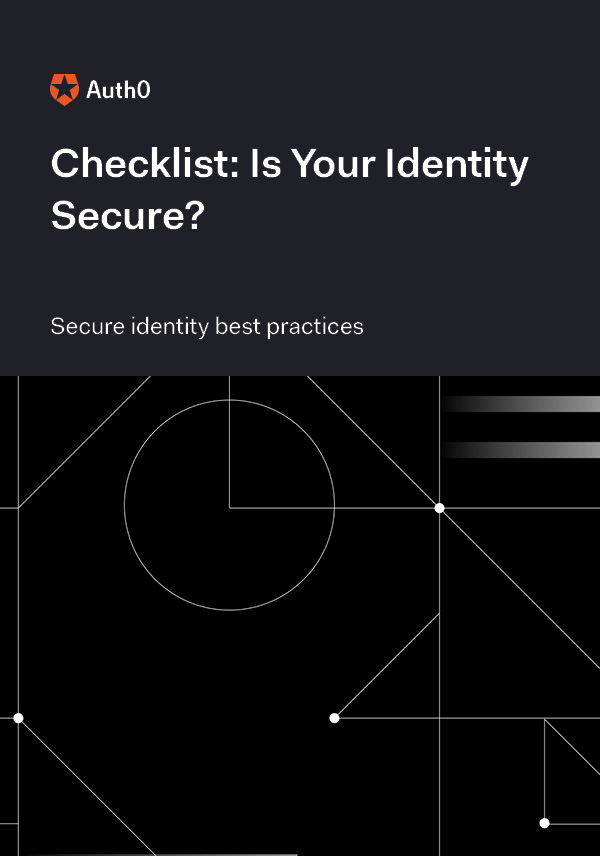 Broken Authentication Checklist
