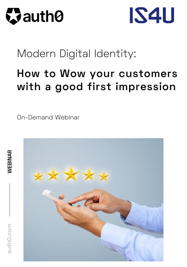 Modern Digital Identity: How to Wow Customers with a First Impression