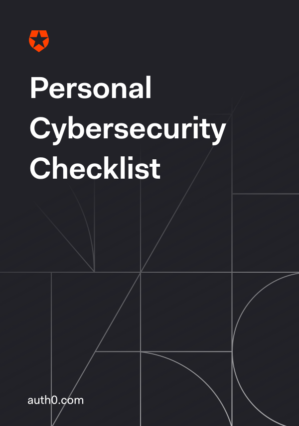 Personal Cybersecurity Checklist