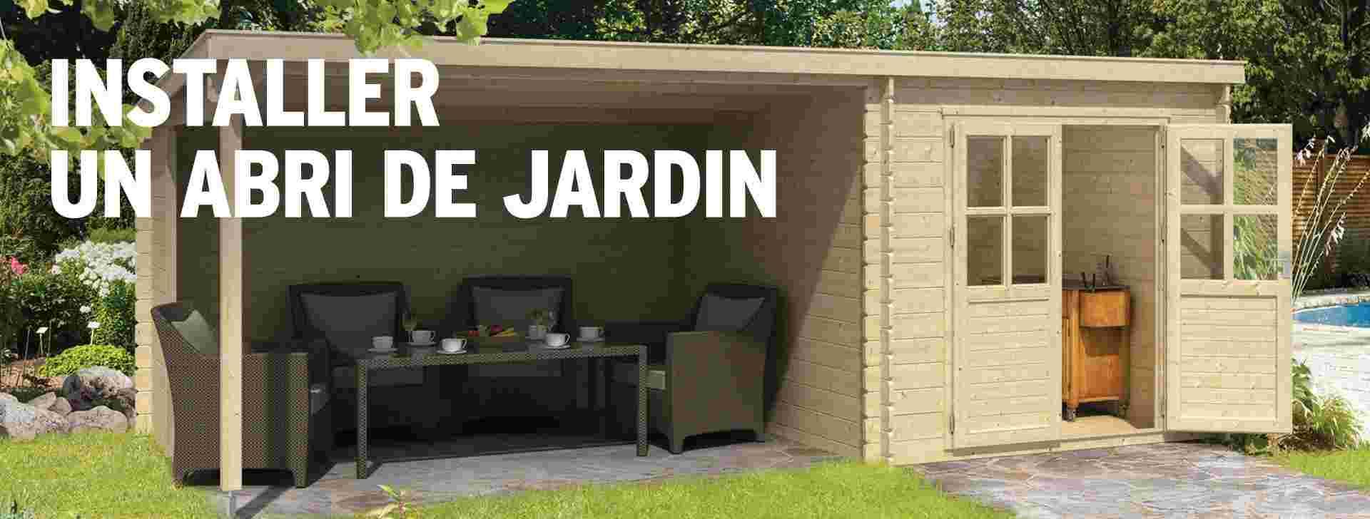 Installer Un Abri De Jardin Suivez Notre Tuto Gamma