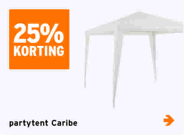 Caribe partytent