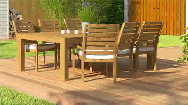 Lasurer une terrasse et du mobilier de jardin en bois   GAMMA.be