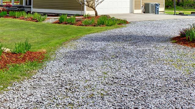 Grind Tuin Aanleggen : Oprit met grind of dolomiet aanleggen gamma