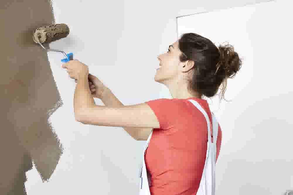 comment peindre un mur ext rieur ou une fa ade. Black Bedroom Furniture Sets. Home Design Ideas