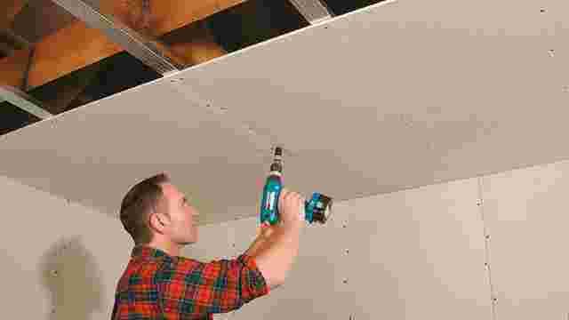 Top Plaatsen van een Metal Stud plafond | GAMMA.be KJ81