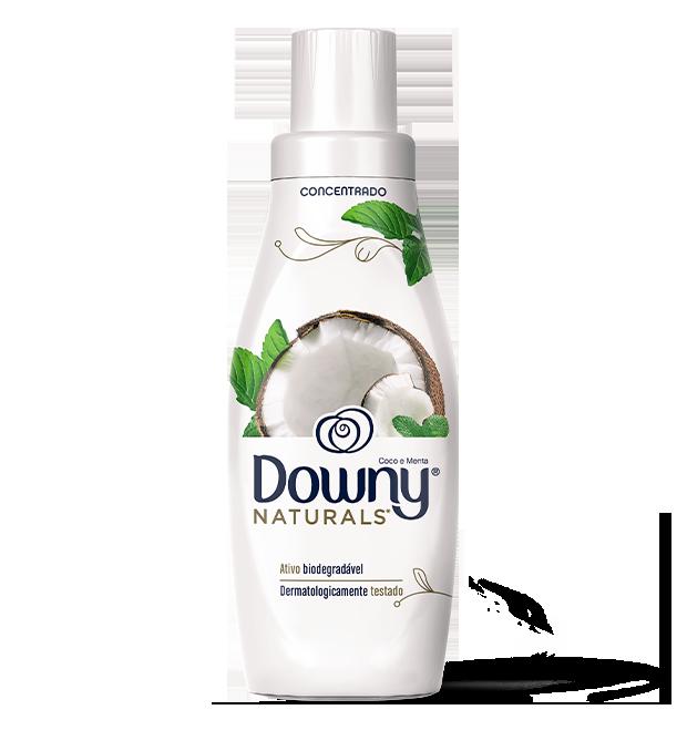 Amaciante Downy Naturals Coco e Menta Clean