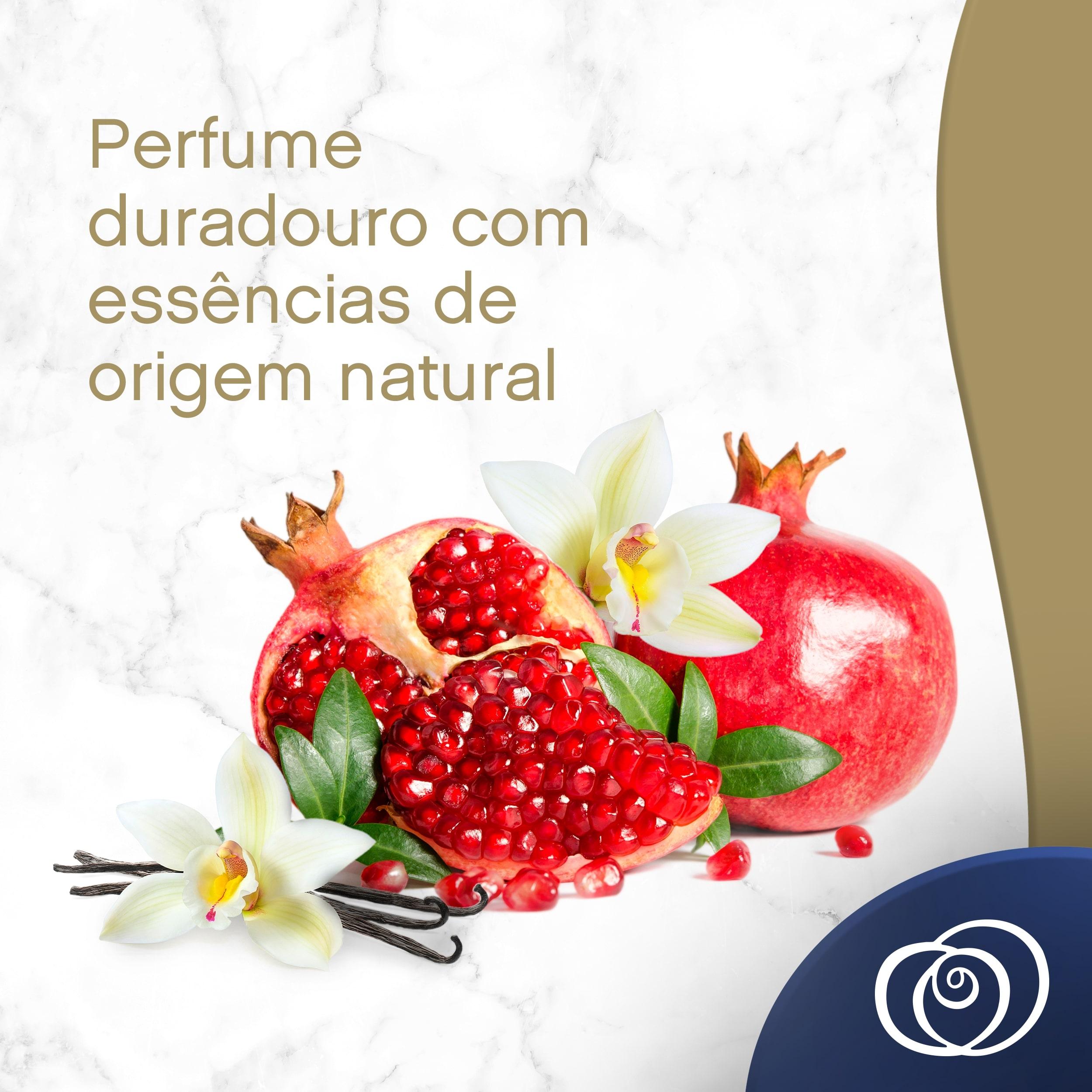 Amaciante Downy Naturals Flor de Romã e Baunilha Secondary 01