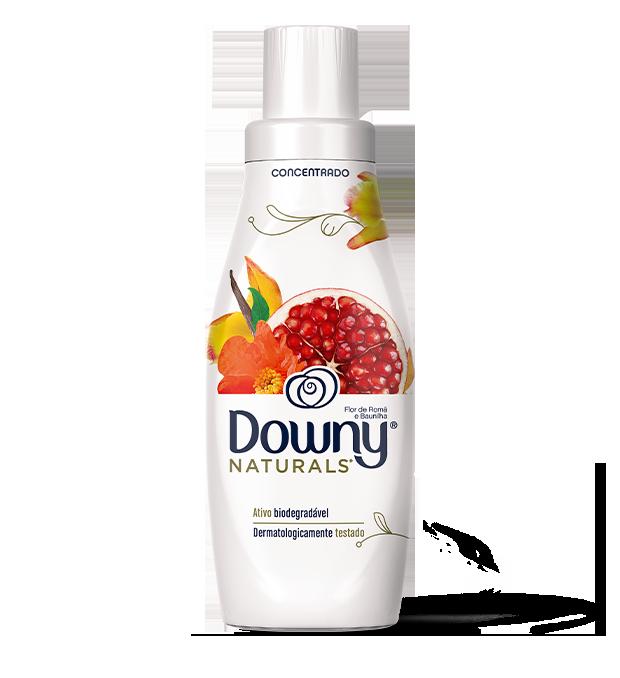 Amaciante Downy Naturals Flor de Romã e Baunilha Clean