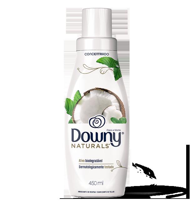 Amaciante Downy Naturals Coco e Menta 450ml