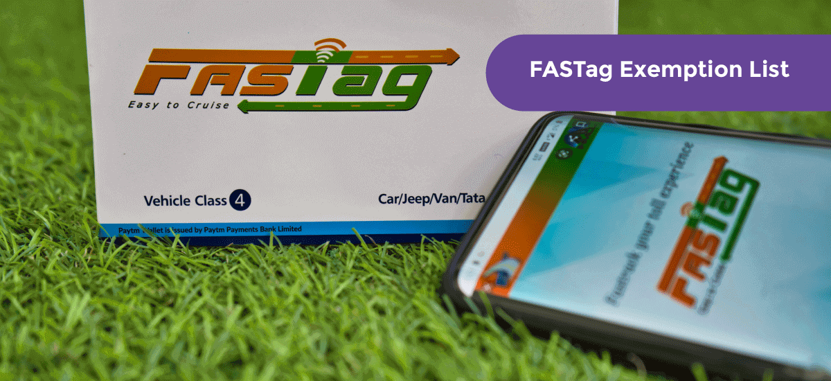 FASTag Exemption List – Exempted FASTag Online Process