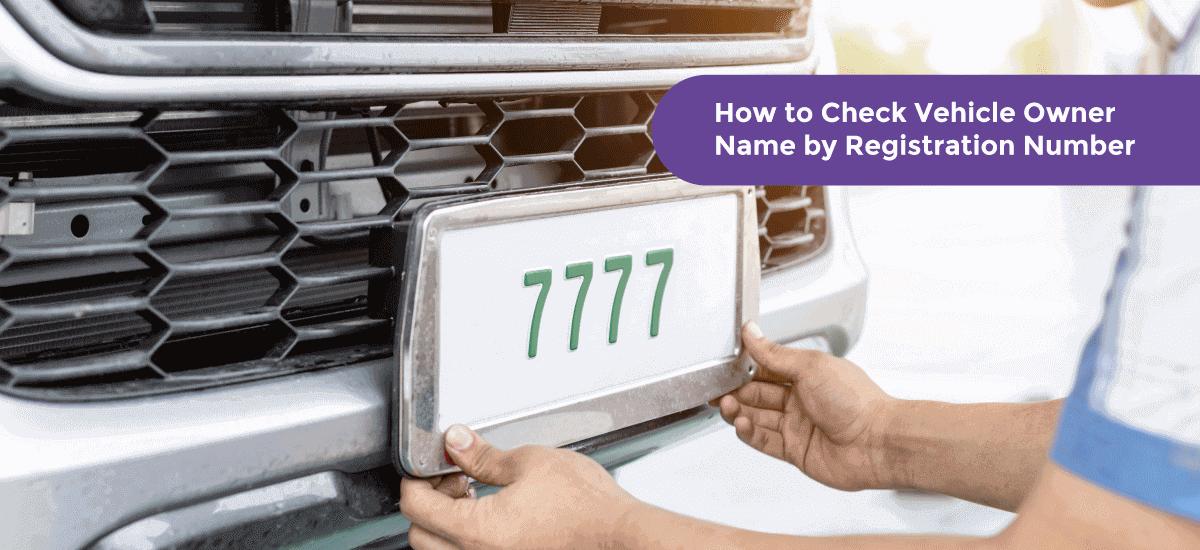 Find Vehicle Registration Details via Online and SMS