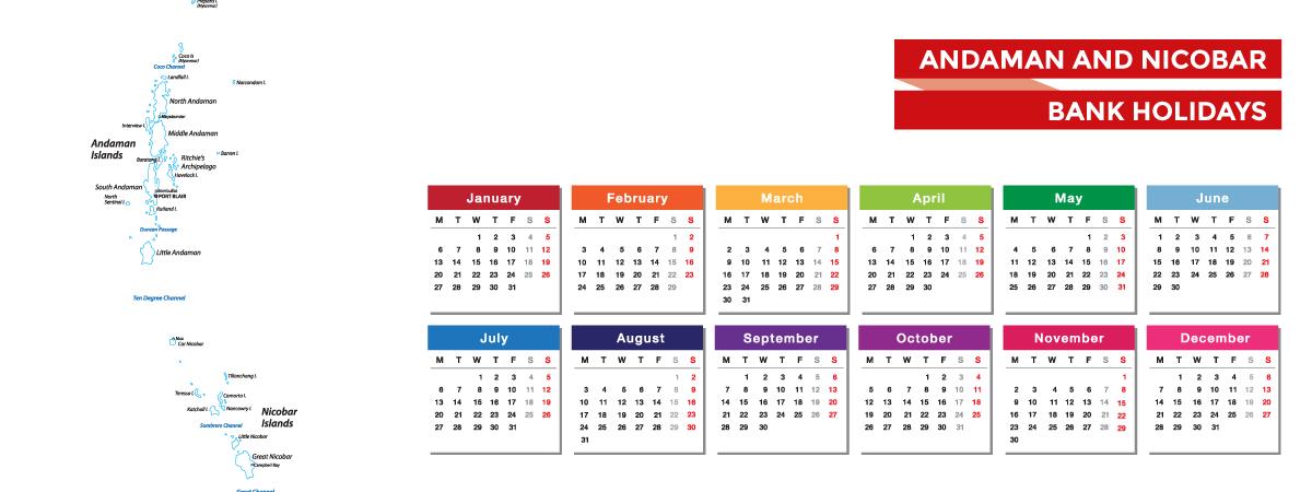 Andaman and Nicobar Bank Holidays