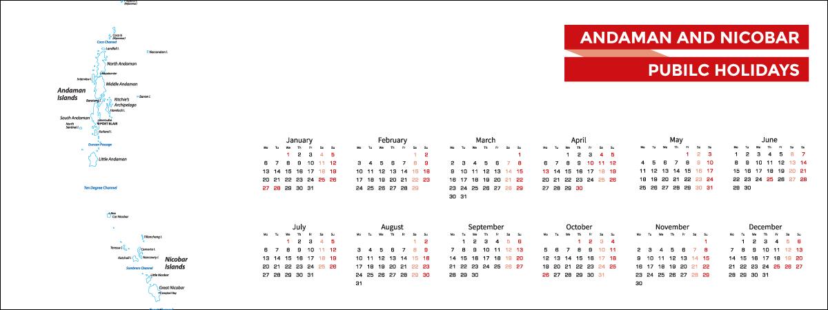Andaman and Nicobar Public Holidays