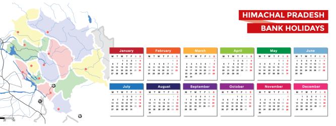 Himachal Pradesh Bank Holidays