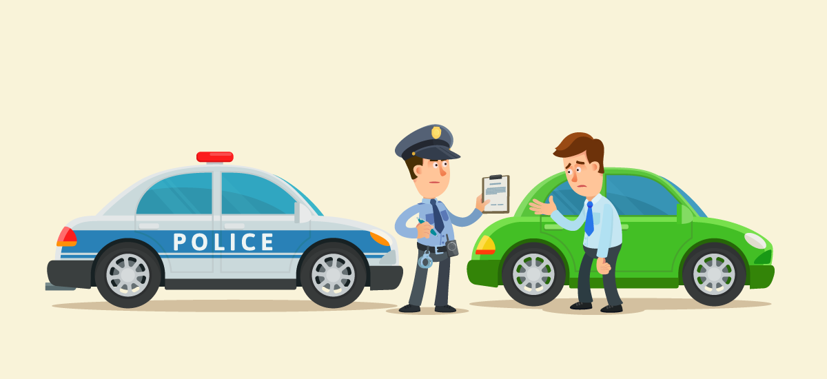 How to Talk with Traffic Police