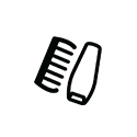 Comb White PNG
