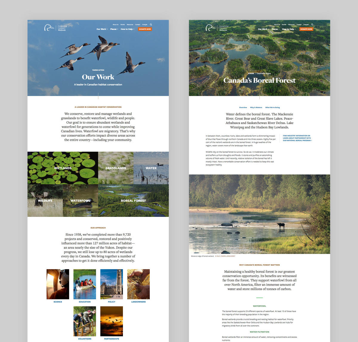 Ducks Unlimited Canada UI Design System