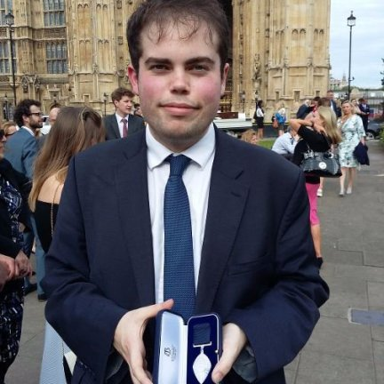 Jonathan Andrews medal image
