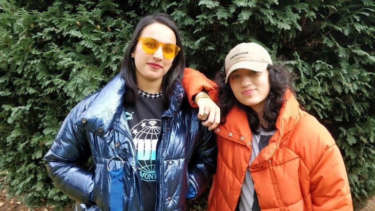 Amna and Kiran