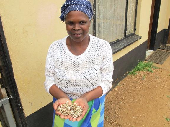 Ntombi WIth Seeds