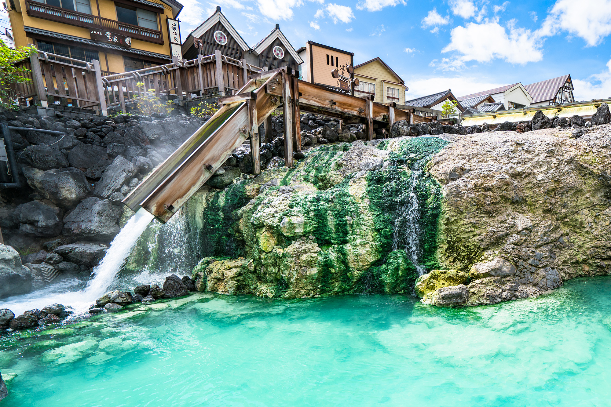 Kusatsu Onsen ranked number one onsen in Japan 18 years in a row