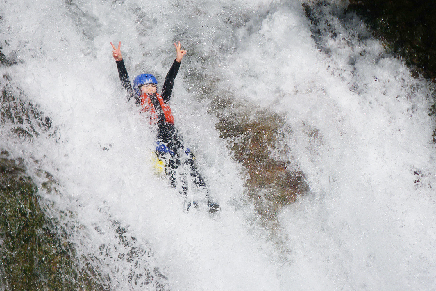 Canyoning adventure