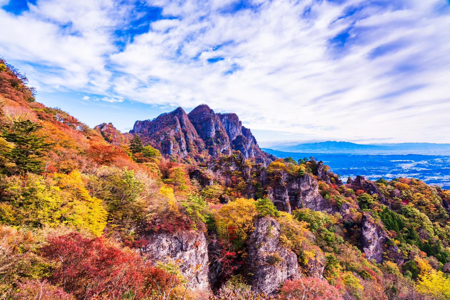 Autumn Leaves at Mt. Myogi