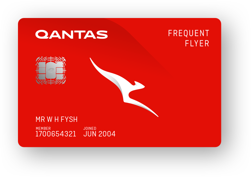 Qantas Travel Money Card - Front for Hero