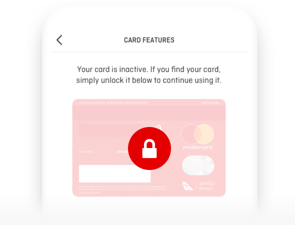 Manage your Qantas Travel Money Card