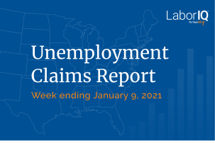 Unemployment Claims lead January 9 2020