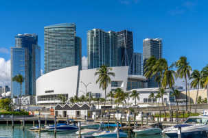 Miami is a popular tourism destination.