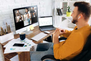 Companies must balance employee engagement with productivity when considering making some form or remote work permanent.