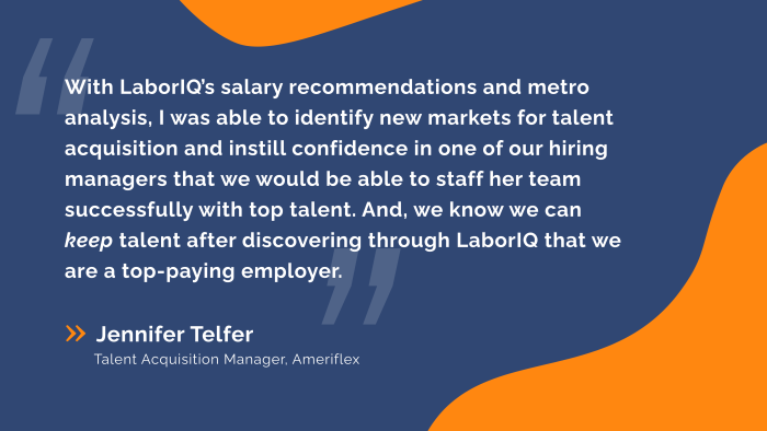 A Talent Acquisition Manager was able to dramatically improve her talent pipeline and retention efforts with LaborIQ by ThinkWhy.