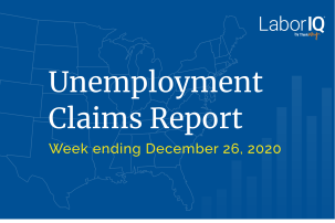 Unemployment claims lead December 26 2020