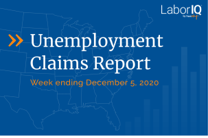 Unemployment claims December 5 2020 lead