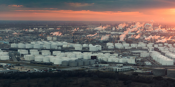 Houston Oil Refinery