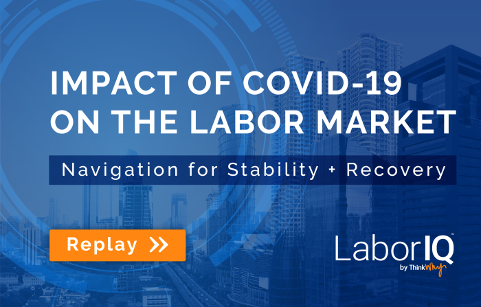 Impact of COVID-19 on the Labor Market