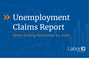 Unemployment claims lead November 14 2020