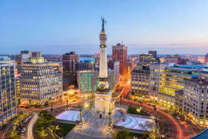 Indianapolis's economy has stood out as a shining star in the Midwest during the current pandemic.