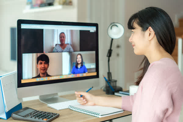 Virtual interviews are becoming a common part of the hiring process.