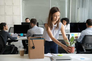 new-female-employee-in-office-on-first-day lead