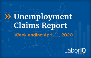 Unemployment claims week ending April 11
