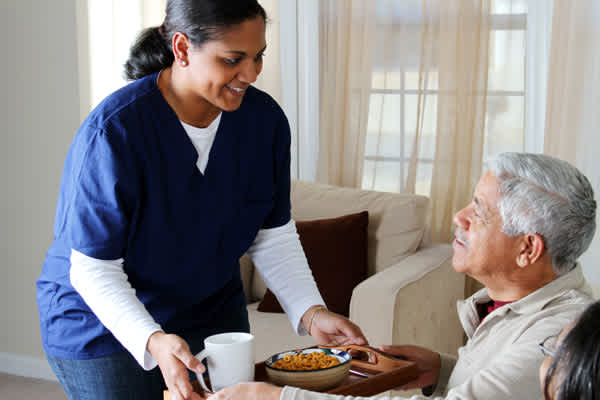 The pandemic has negatively impacted many home health care workers.