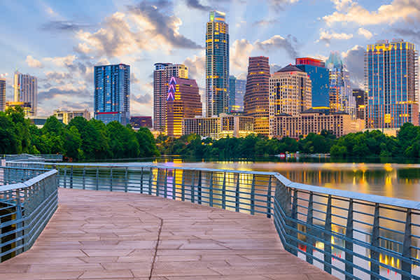 Austin, Texas is one of the metros performing the best toward its economic recovery.