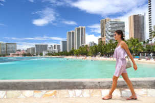 Hawaii's lack of tourism has negatively impacted hotels, bars, and restaurants.