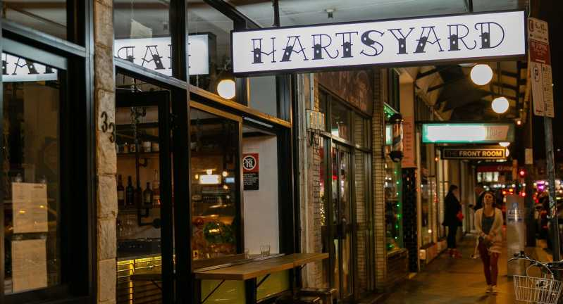 Hartsyard is a modern Australian restaurant in the heart of Newtown. Source: Quandoo \[…\]  [Rea](https://quisine.quandoo.com.au/stories/australian-female-chefs/attachment/hartsyard2/)