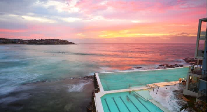 \[…\]  [Read More…](https://quisine.quandoo.com.au/guide/where-to-eat-in-bondi-beach/attachment/sunset-bondi-beach-sydney/)
