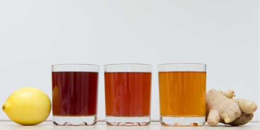 Different shades of kombucha \[…\]  [Read More…](https://quisine.quandoo.com.au/trends/kombucha-tea-health-tonic-hoax/attachment/kombucha_glasses_header/)