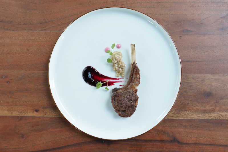 Wakanui Spring Lamb recipe by Ryohei Kenyoshi, WAKANUI Grill & Dining in Singapore