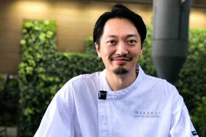 Ryohei Kenyoshi chef at WAKANUI Grill & Dining in Singapore